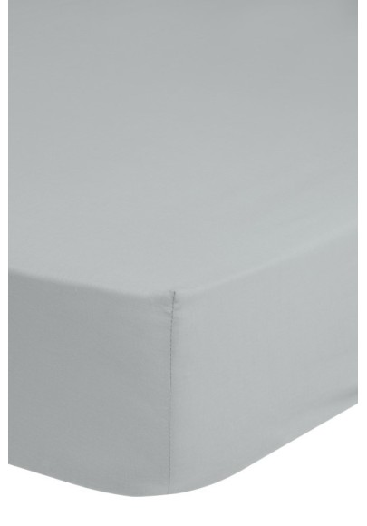 Fitted Sheet Good Morning cotton easy care Grey