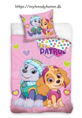 Junior bedding Paw Patrol Pink