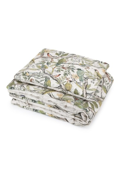 Quilted Blanket with Pillow Tropical Forest serie SKOVALF