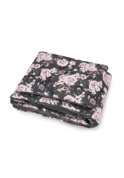 Quilted Blanket with Pillow Mystery Garden serie SKOVALF