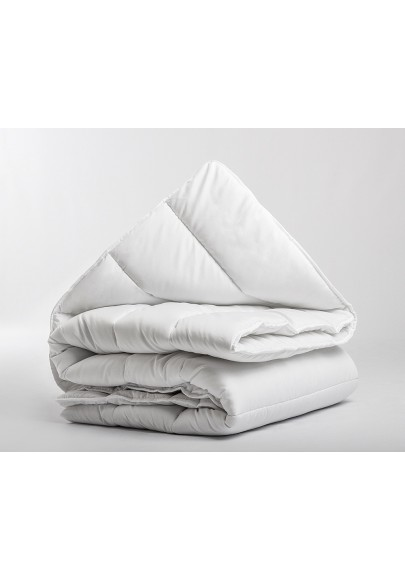 Micro Touch Single Quilt White