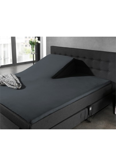 Fitted Sheet Splittopper Jersey Anthracite