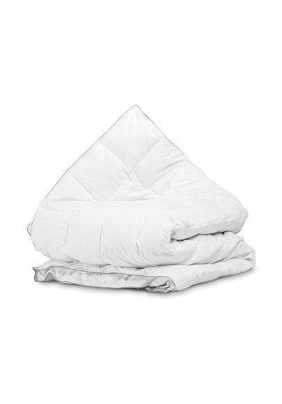 Velvet Half Down 4-Season Quilt White