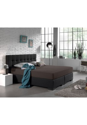 Faconlagen Double Jersey 220 gr. Straight Pack Deep Taupe - MyTrendyHome.dk