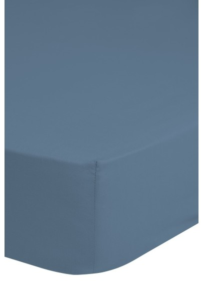 Cotton satin Fitted Sheet HIP Ice blue